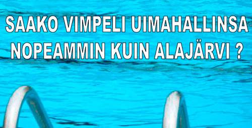Uimahalli Vimpeliin?