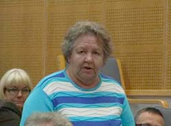 Kaarina Paalijärvi (kok.) käytti myös oman puheenvuoron