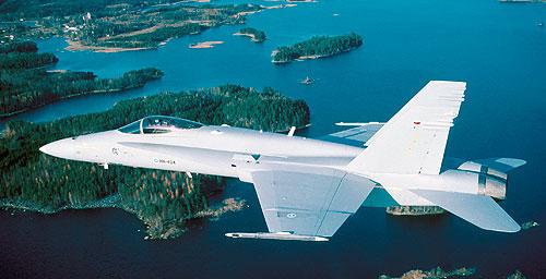Suomen Ilmavoimien Hornet F-18, pilotteineen ja henkilökuntineen ovat arvostettuja maailmalla.