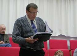 Kansanedustaja Raimo Vistbacka