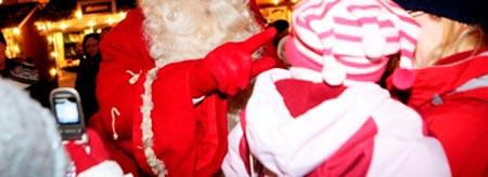 Joulupukki on liikkeellä perjantaina Alajärvellä!