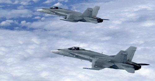 F-18 Hornet Suomen Ilmavoimat (SA-kuvat)