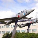 Kauhavan Lentosotakoulu Fougat juhannuksena 2008 (kuva: Jukka Ketonen)