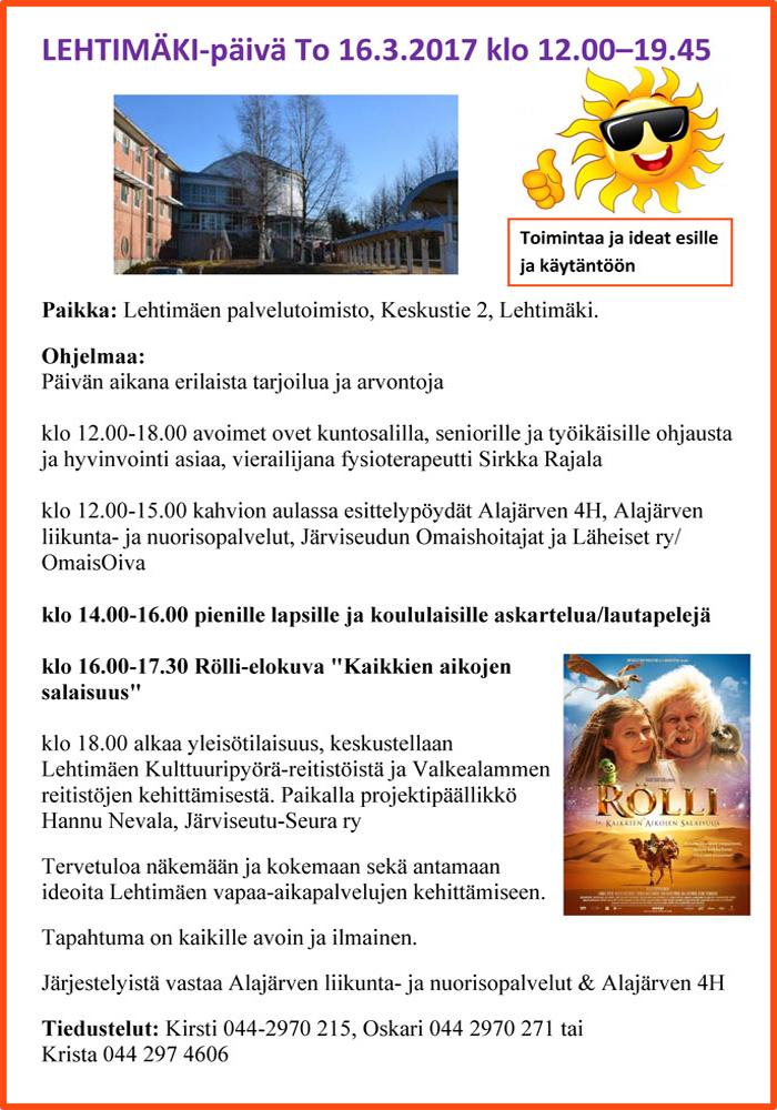 Lehtimäkipäivä_160317