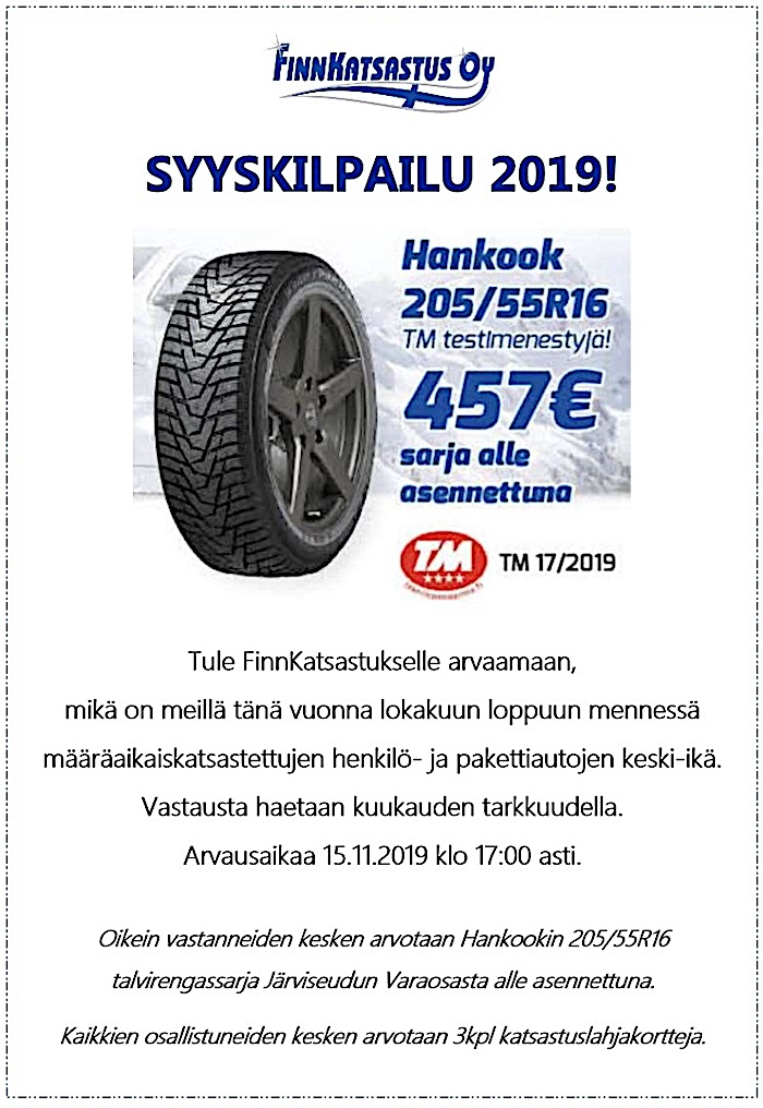 Finnkatsastus Syyskilpailu2019