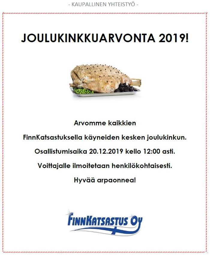 Finnkatsastus Kinkku 2019_arvonta