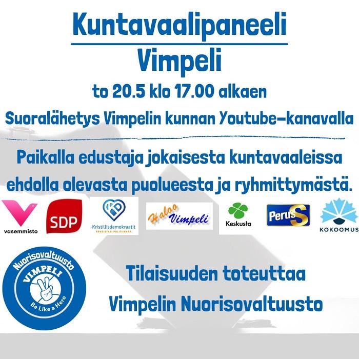 Vimpelin NuVa vaalipaneeli21